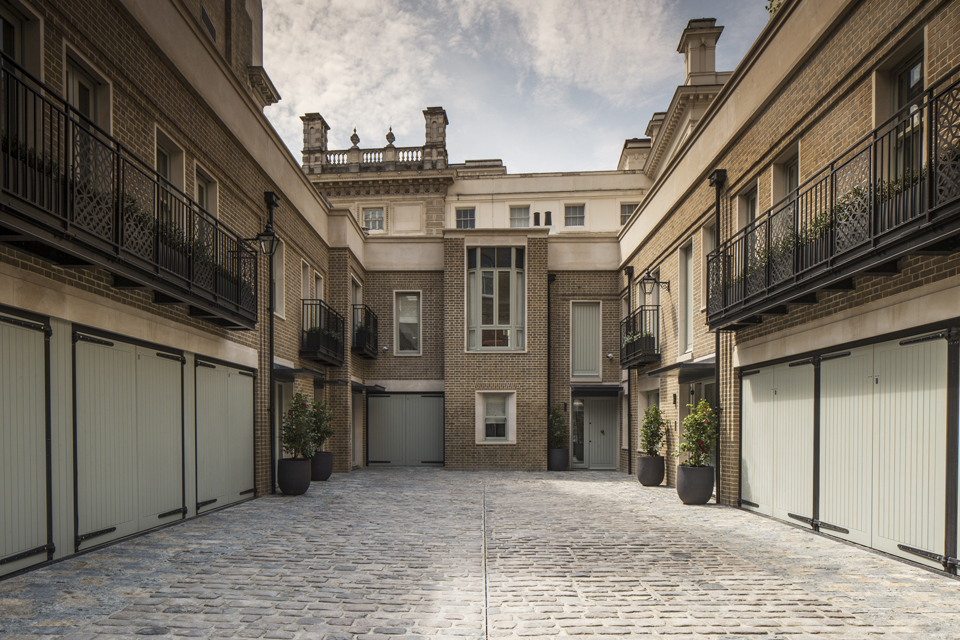 Cleveland Mews - Cleveland Court London waltonwagner projects