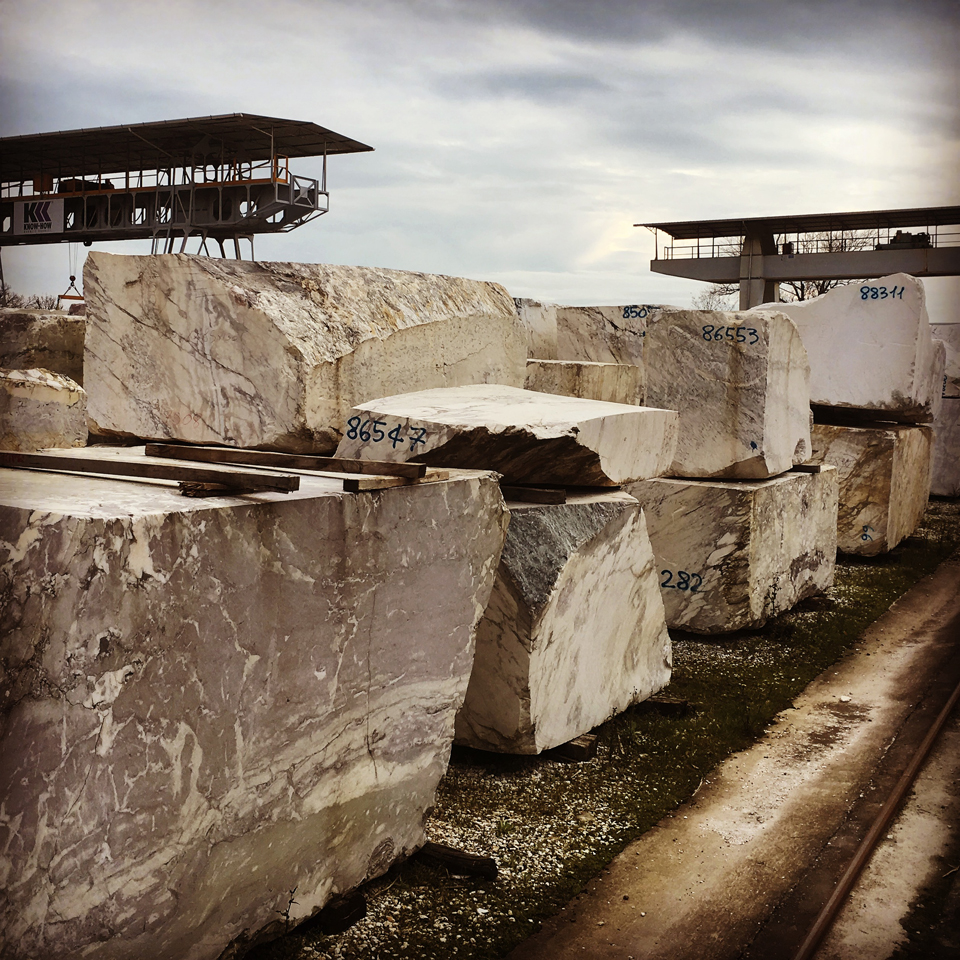 waltonwagner selecting stone in Italy for one of our projects waltonwagnerlondon