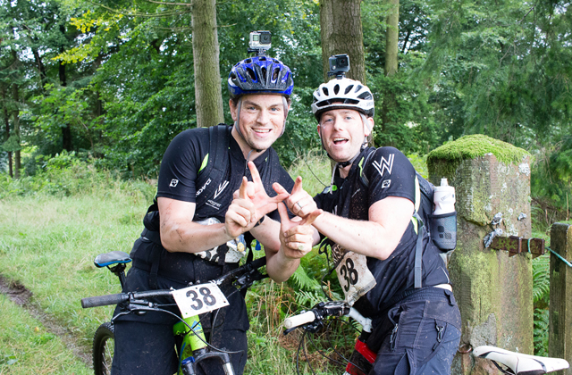 waltonwagner team at the Beccleuch Challenge 2017 Russell Smithers and Patrick Lambert