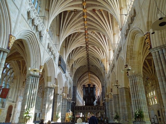Exeter Cathedral interior