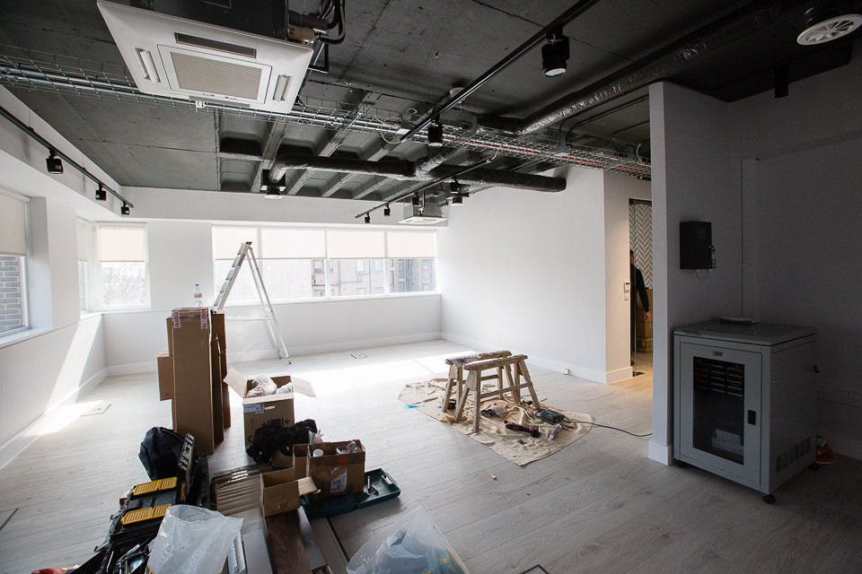 Arlington Street project office interior