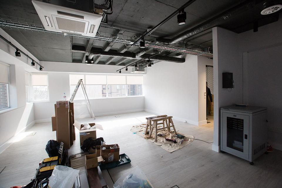 Arlington Street project office interior