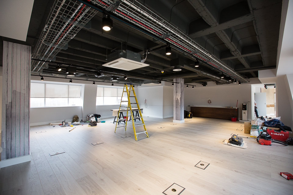 Arlington Street office renovations