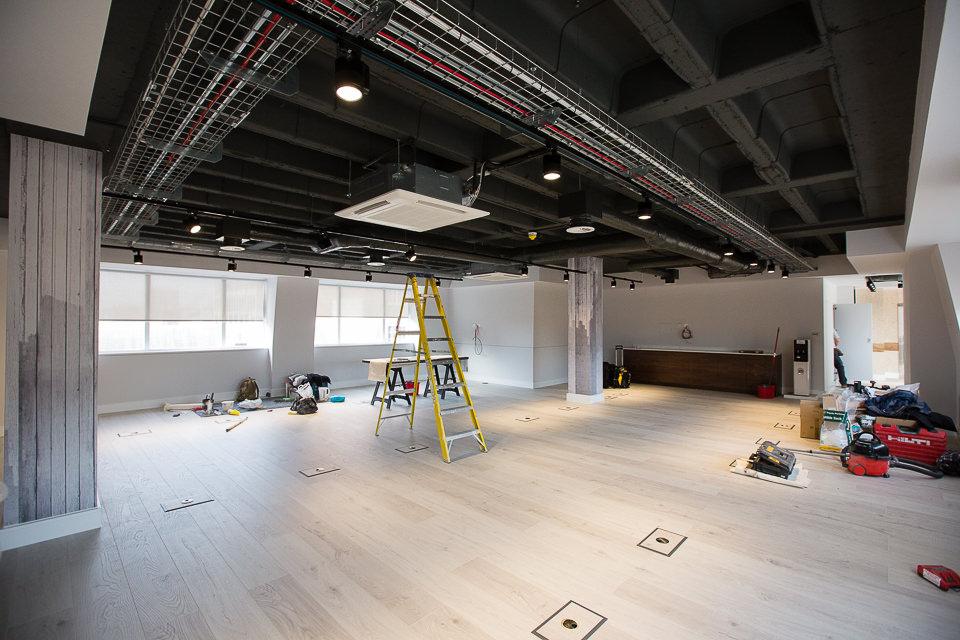 Arlington Street office renovations