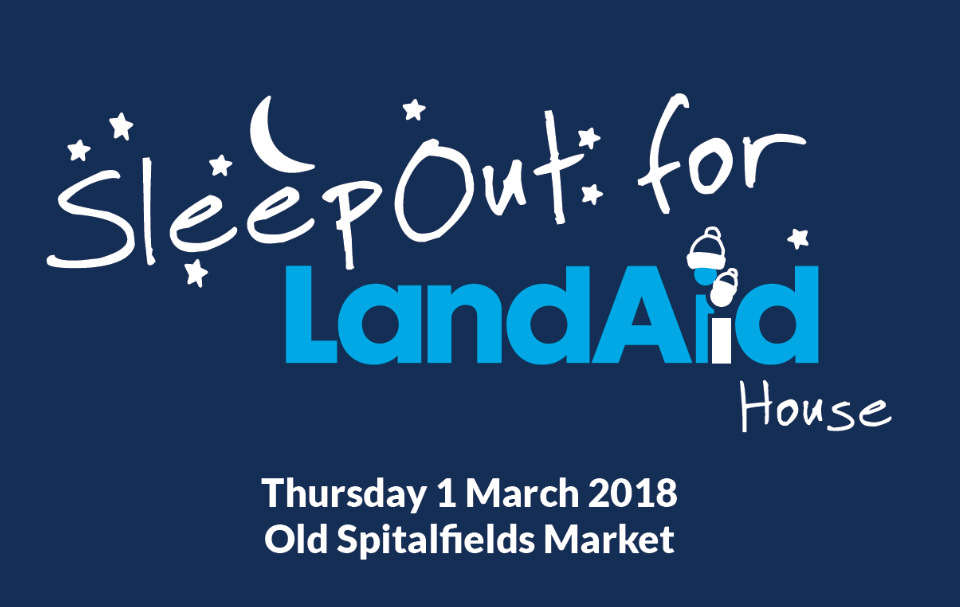 SleepOut for LandAid House 2018