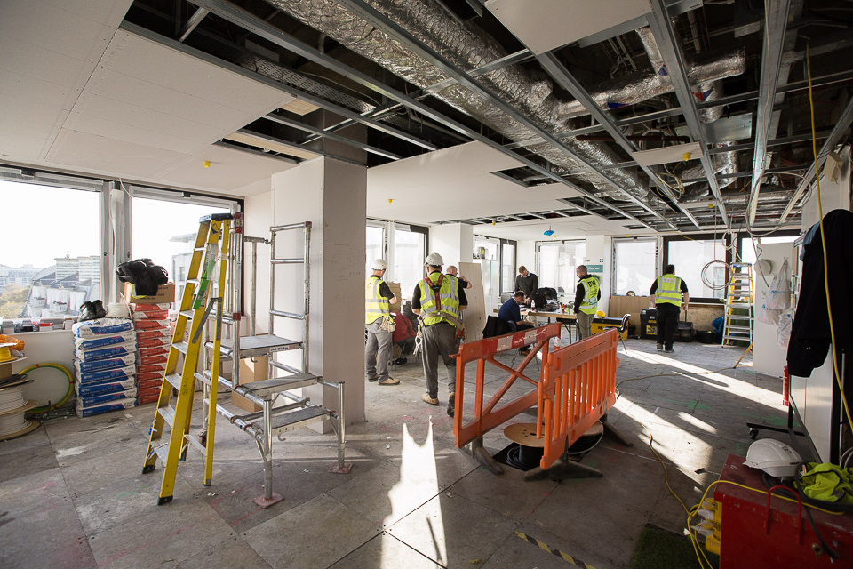 Old Park Lane office refurbishment