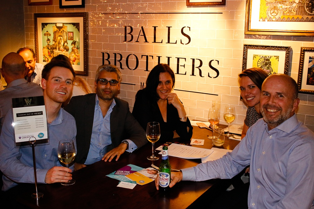 Box Associates at the annual WW pub quiz