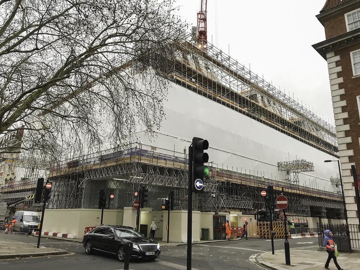 1 Grosvenor Square London - Walton Wagner project management